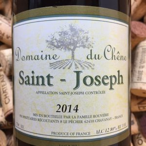 Domaine du Chene Saint Joseph 2014