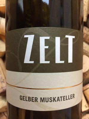 Ernst & Mario Zelt Muskateller Pfalz 2015
