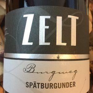 Ernst & Mario Zelt Spätburgunder Grosskarlbacher Burgweg Pfalz 2014