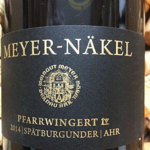 Meyer Näkel Dernauer Pfarrwingert Spätburgunder GG Ahr-0