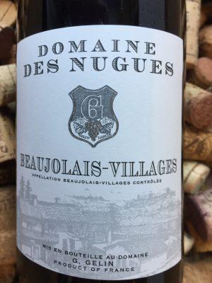 Domaine des Nugues Beaujolais Villages Rouge 2018
