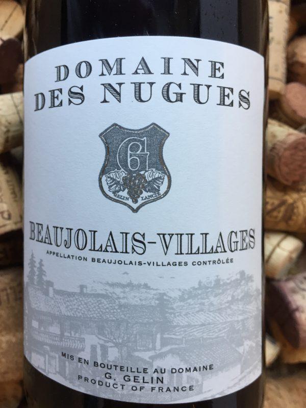 Domaine des Nugues Beaujolais Village Rouge 2017