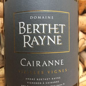 Andre Berthet Rayne Cairanne Vieilles Vignes Rouge 2014