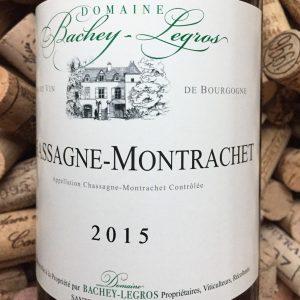 Bachey-Legros Chassagne Montrachet 2015