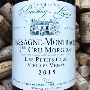 Bachey-Legros Chassagne Montrachet 1e Cru Morgeot 2015