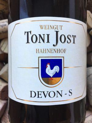 Toni Jost Devon S Riesling Trocken Mittelrhein 2018