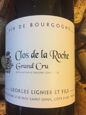 Georges Lignier Clos de La Roche Grand Cru 2014