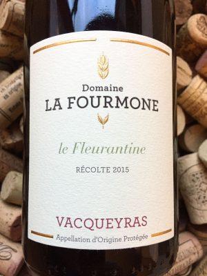 Domaine La Fourmone Vacqueyras La Fleurantine 2015-0