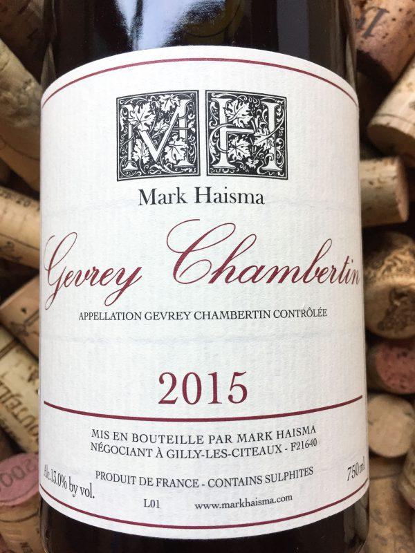 Mark Haisma Gevrey Chambertin 2016