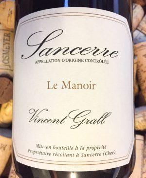 Vincent Grall Sancerre Le Manoir 2016