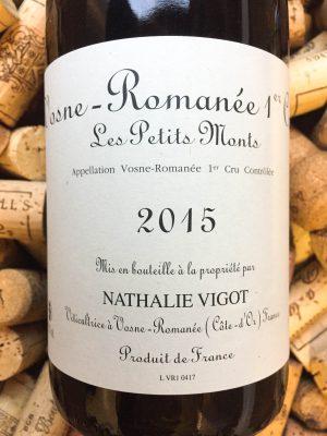 Nathalie Vigot Vosne Romanee 1er Cru Les Petits Monts 2018