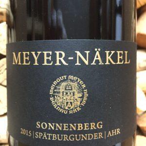 Meyer Näkel Neuenahrer Sonneberg Spätburgunder Ahr 2015-0