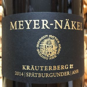 Meyer Näkel Kräuterberg GG Spätburgunder Ahr 2014