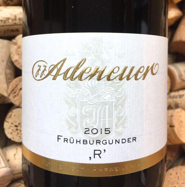 Adeneuer Frühburgunder R Ahr 2015