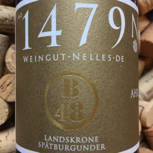 Nelles Spatburgunder GG Heimersheimer Landskorne B48Ahr 2014