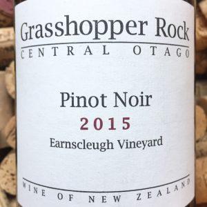 Grasshopper Rock Earnscleugh vineyard Central Otago 2015