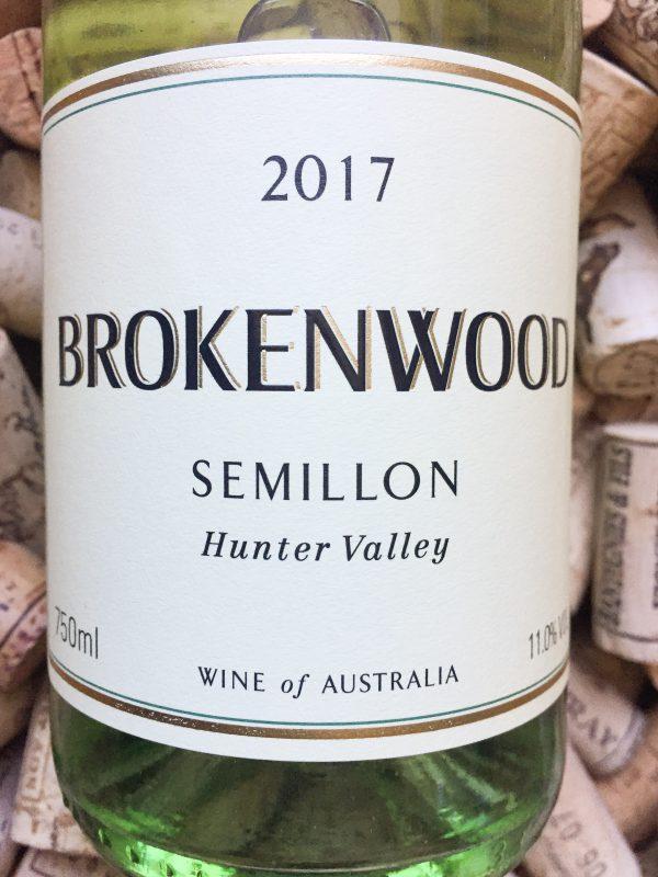 Brokenwood Semillon Hunter Valley 2017