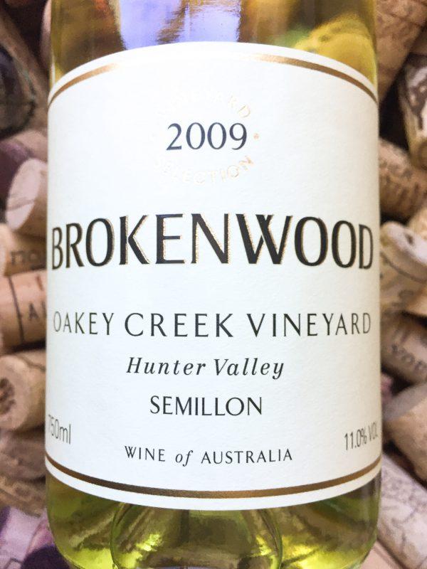 Brokenwood Semillon Oakey Creek Hunter Valley 2009