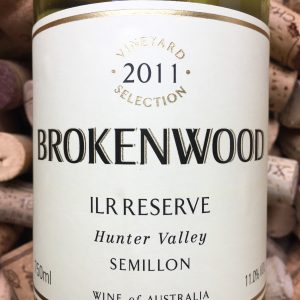 Brokenwood Semillon ILR Hunter Valley 2011