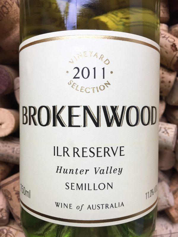 Brokenwood Semillon ILR Hunter Valley 2011