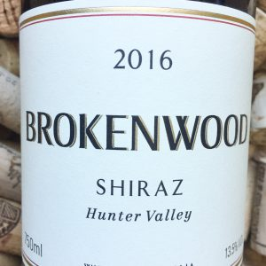 Brokenwood Shiraz Hunter Valley 2016
