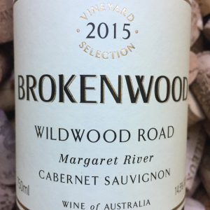rokenwood Cabernet Wildwood Road Margaret River 2015