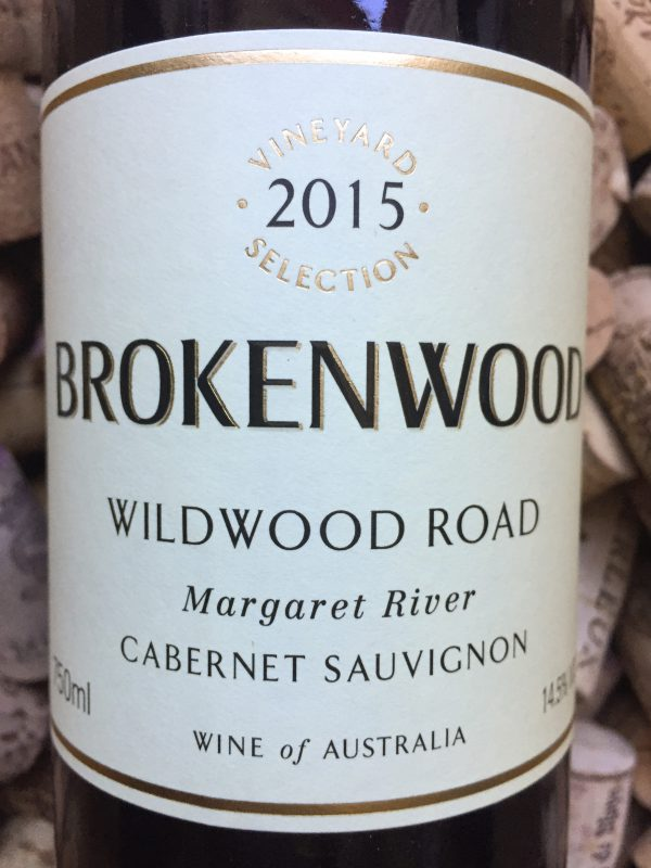rokenwood Cabernet Wildwood Road Margaret River 2015