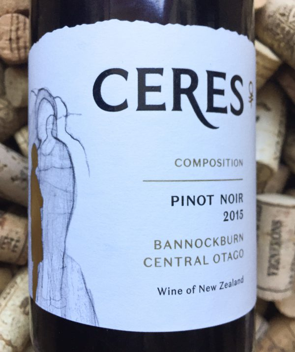 Ceres Pinot Noir Composition Bannockburn Central Otago 2015