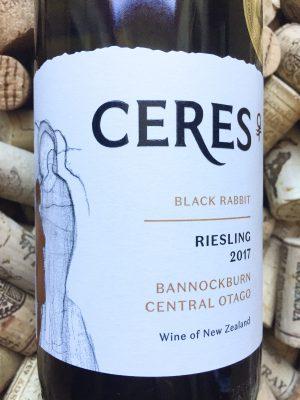 Ceres Riesling Black Rabbit Central Otago 2017
