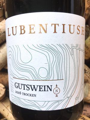 Lubentiushof Gutswein Riesling trocken Mosel 2016