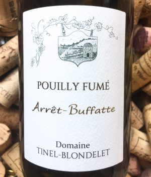 Tinel Blondelet Pouilly Fume 2015