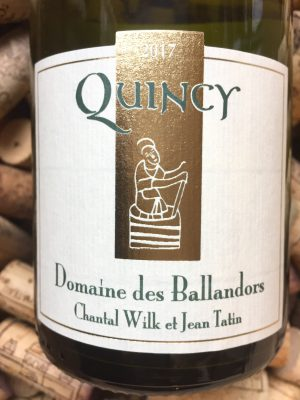 Jean Tatin - Domaine des Ballandors Quincy 2018