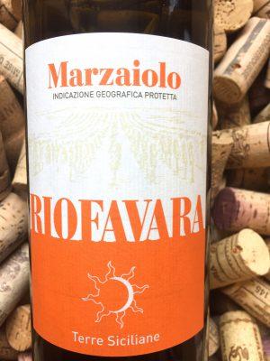 Riofavara Marzaiolo IGT Terre Siciliane 2018