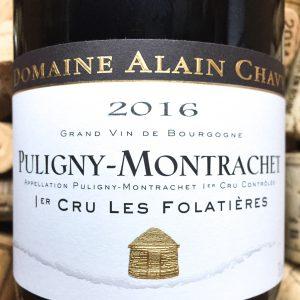 Alain Chavy Puligny Montrachet 1er Cru Folatieres 2016