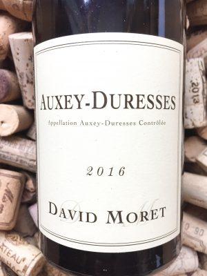 David Moret Auxey Duresses Blanc 2016