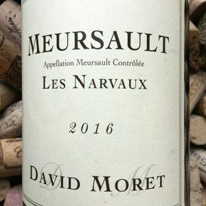 David Moret Meursault Les Narvaux 2016