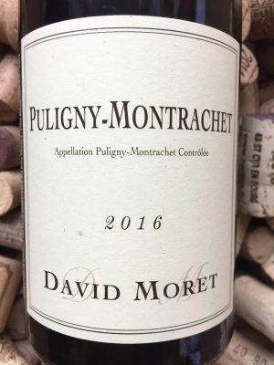 David Moret Puligny Montrachet 2016