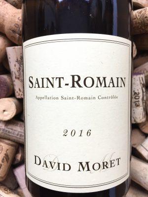 David Moret Saint Romain 2016
