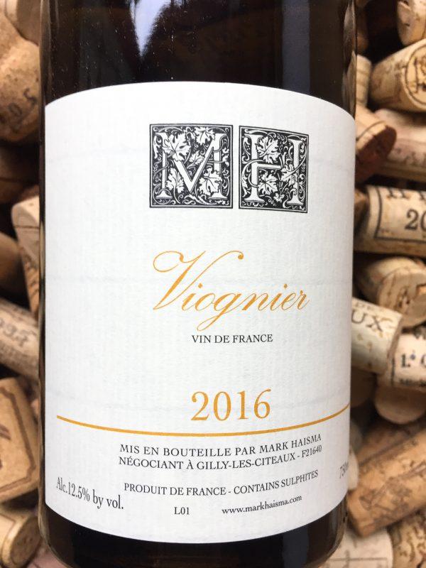 Mark Haisma Viognier Vin de France 2016