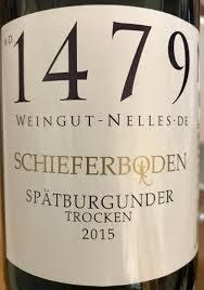 Nelles Spätburgunder Schieferboden 2017