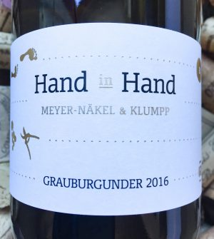 Meyer- Näkel & Klumpp Hand in Hand Grauburgunder Baden 2015