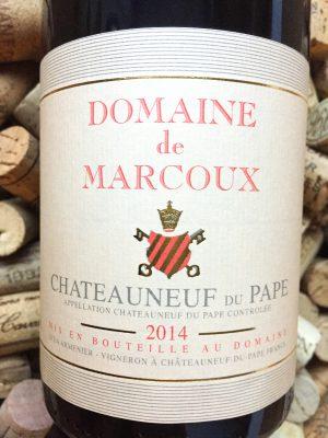 Domaine de Marcoux Chateauneuf du Pape 2014