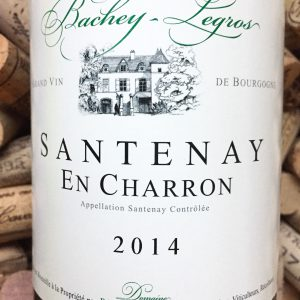 Bachey-Legros Santenay En Charron 2014