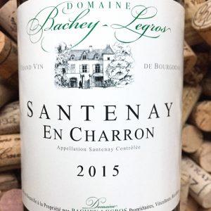 Bachey-Legros Santenay En Charron 2015