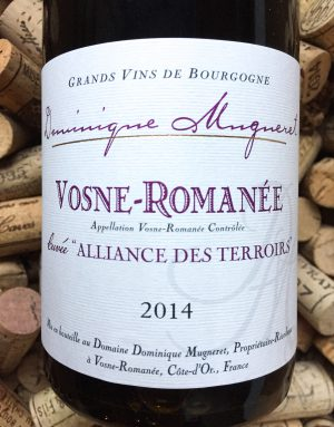 Dominique Mugneret Vosne Romanee Alliance des Terroirs 2014