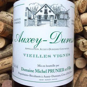 Michel Prunier Auxey Duresses Vieilles Vignes Blanc 2015
