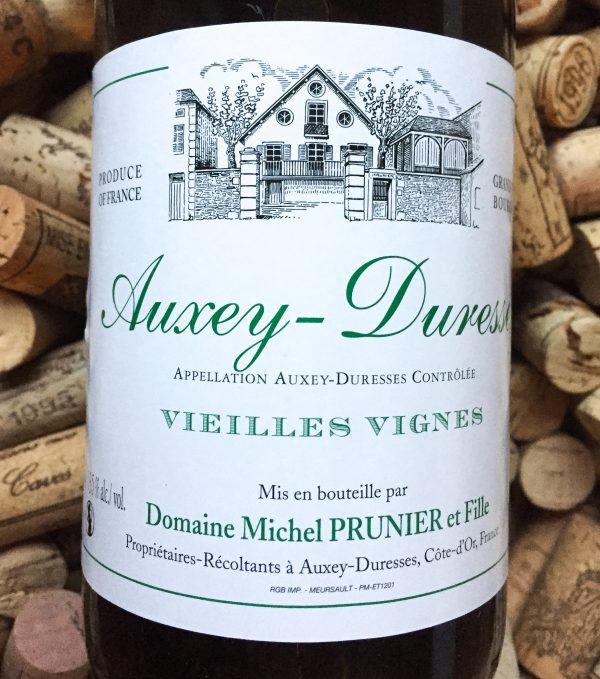 Michel Prunier Auxey Duresses Vieilles Vignes Blanc 2017