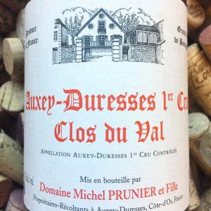 Michel Prunier Auxey Durresses 1er Cru Clos du Val 2012