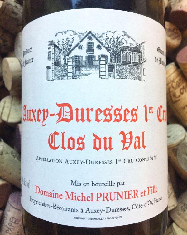 Michel Prunier Auxey Durresses 1er Cru Clos du Val 2017