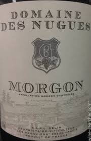 Domaine des Nugues Morgon 2014